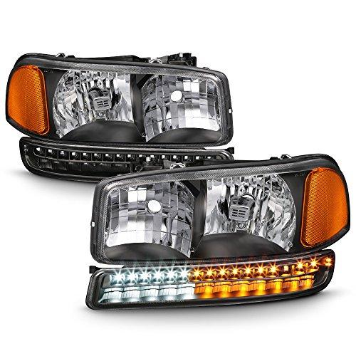 05 sierra headlight assembly - 9