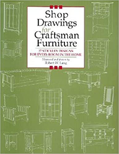 Craftsman pdf drawings furniture for shop