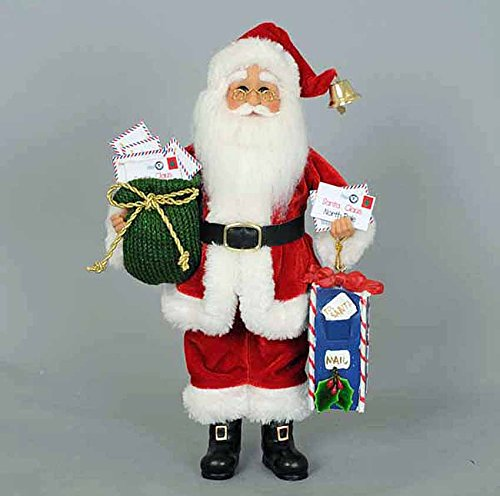 Christmas Decorations - Special Delivery for Santa - Letters to Santa Holiday - Figurine Delivery Santa Special