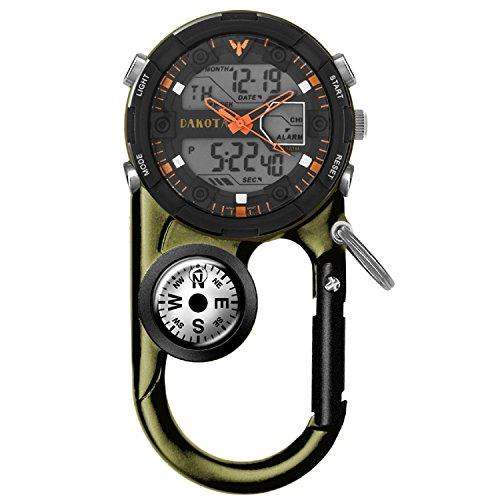 Dakota Watch Company II Analog & Digital Clip Watch