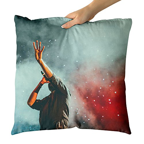 Westlake Art Decorative Throw Pillow - Wallpaper Music - Photography Home Decor Living Room - - Chair Contemporary Leisure