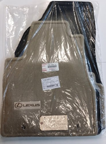 LEXUS 2004 to 2009 RX330/RX350 Carpeted Floor Mats - Factory OEM - Ivory (Beige)