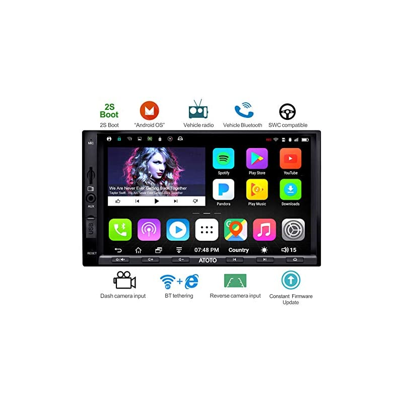 ATOTO A6 Double Din Android Car Navigati