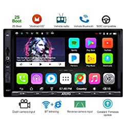 ATOTO A6 Double Din Android Car Navigati...