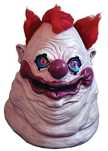 Killer Klown Costume (Trick or Treat Studios Men's Killer Klowns From Outer Space Fatso Mask, Multi, One Size)