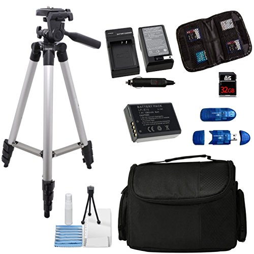 Essential Accessory bundle For EOS Rebel T5 Contains + Tripo