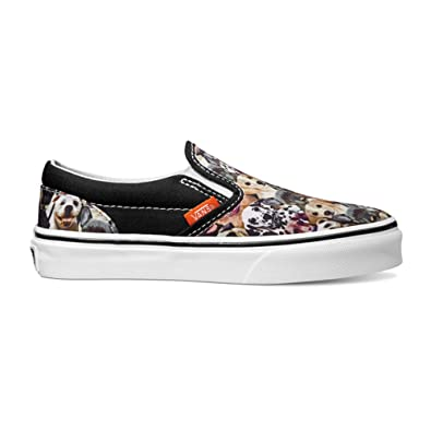 7b6e9f92b8 Vans Unisex Classic Slip-on Shoes ASPCA Dogs (4 US Men-5.5 US