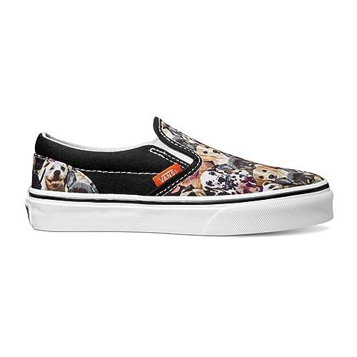 21a5aab4979 Vans Unisex Classic Slip-on Shoes ASPCA Dogs (6 US Men- 7.5 US Women ...