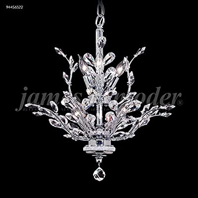 "James R. Moder Florale Collection 21"" Wide Chandelier"