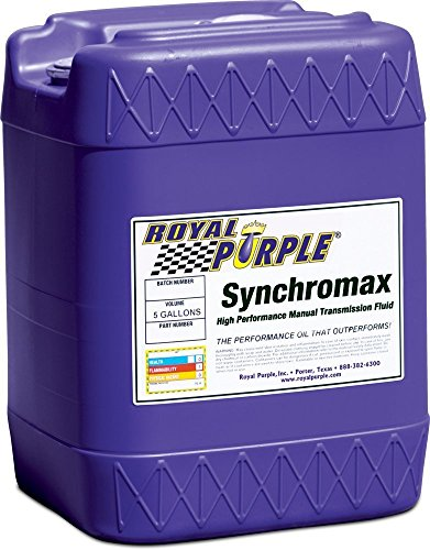 Royal Purple 05512 Synchromax High Performance Synthetic Manual Transmission Fluid - 5 gal. by Royal Purple
