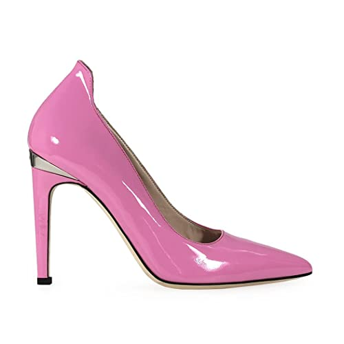 21d2d7e3804994 Pinko Pink Patent Leather Nadir Woman Pump Fall Winter 2017 Shoes  Collection  Amazon.co.uk  Shoes   Bags