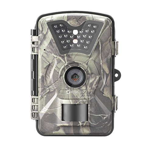 ECOOPRO 12MP 1080P HD Trail Camera Low-glow Game Hunting