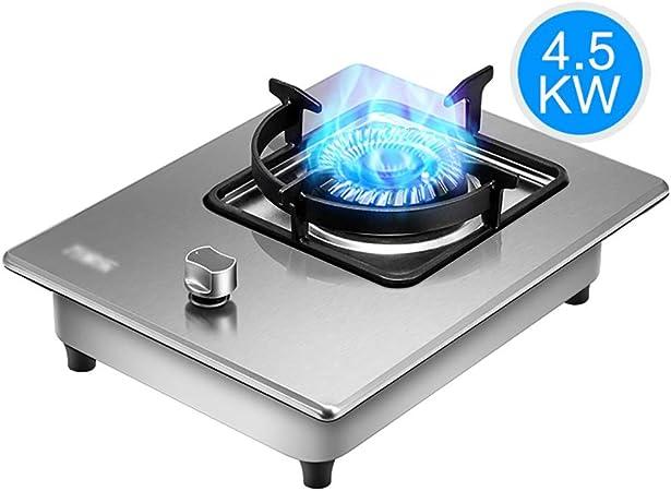 Placa de gas Olla 4.5KW acero inoxidable Cocina de gas del ...