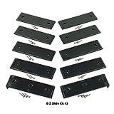 E-Z Slide Trailer Pads - Kit 3 Black