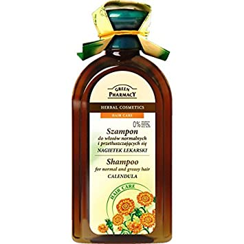 CHAMPU CABELLO NORMAL/GRASO (CALENDULA) GREEN PHARMACY 350 ML