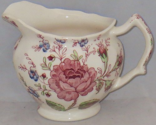 England Pink Rose - Johnson Brothers Rose Chintz-Pink (