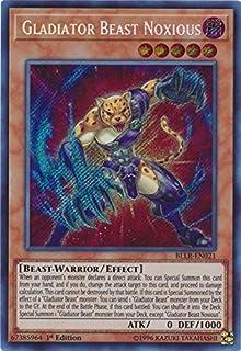 Yu-Gi-Oh Bestiari TU01-FR016 Bete Gladiateur//Gladiator Beast
