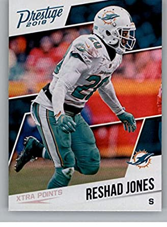 7483d1f91837 2018 Panini Prestige NFL XTRA Points Blue (Retail Exclusive)  48 Reshad  Jones Miami