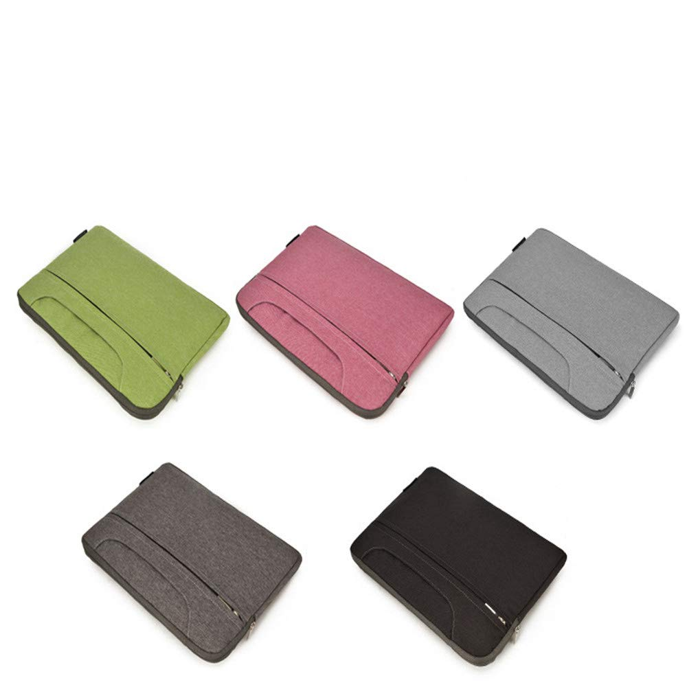 Amyannie Laptop Messenger Bag Laptop Bag Multi-Function Multi-Color Liner Bag 11''/13''/14''/15''/13.3''/15.6'' Nylon Waterproof Notebook Bag Briefcase Laptop Messenger Bag (Color : Black, Size : 15'') by Amyannie (Image #2)