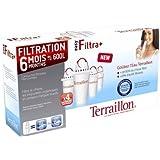 Terraillon 10957 Cartouche 600 L Easy Filtra +