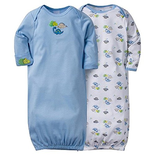 Gerber Unisex Baby Pack Gown
