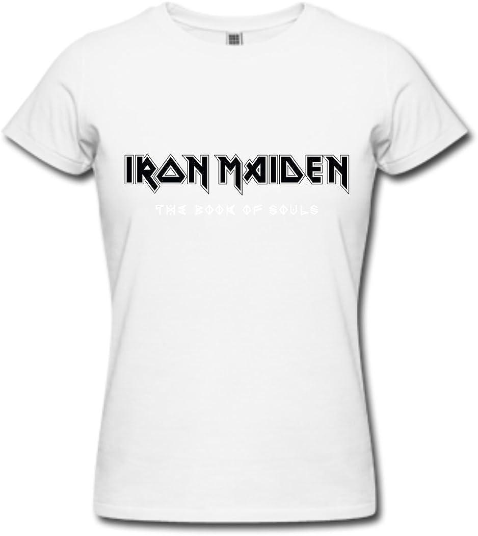 Camisetas de Iron Maiden The Book of Souls (5) para mujer ...