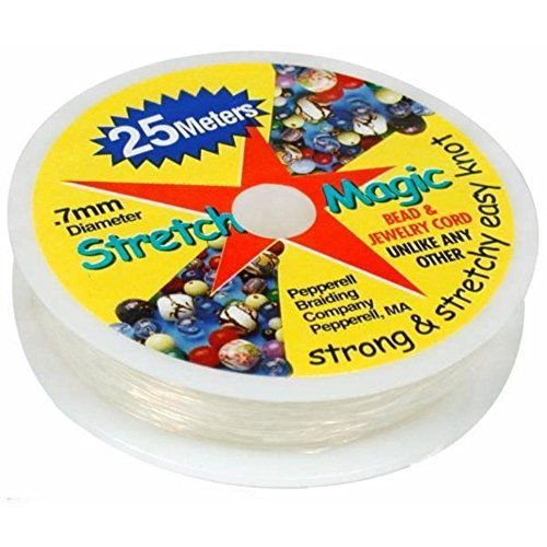 Magic Stretchy - Stretch Magic Clear Bead Cord.7mm 25 meters (about 82ft)