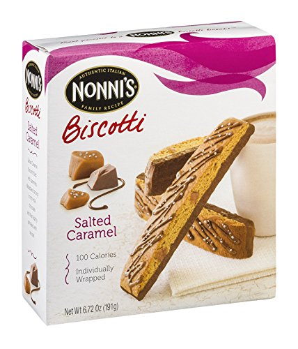 Nonnis Biscotti Salted Caramel by Nonni's