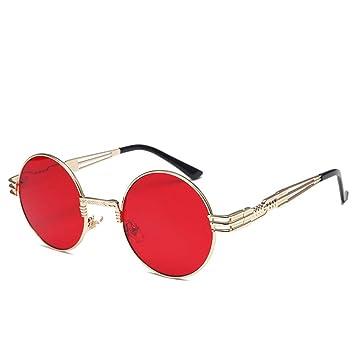GJYANJING Gafas De Sol Gafas De Sol Retro De Espejo para ...