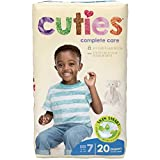 Health & Personal Care : Cuties Complete Care Baby Diapers, Size 7, 20 Count
