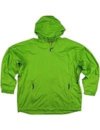 Northern Expedition Men's Waterproof Zip Up Hooded Rain Jacket