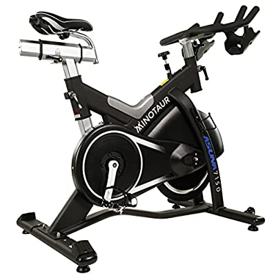 ASUNA Minotaur Cycle Exercise Bike - Magnetic Belt Drive High Weight Capacity Commercial Indoor Cycling Bike