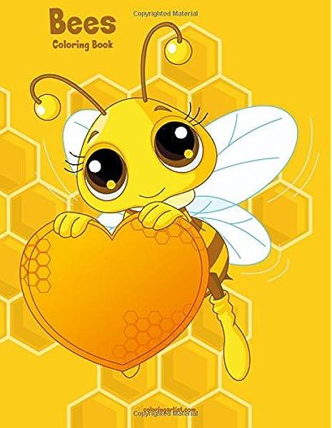 - Bees Coloring Book 1 (Volume 1): Snels, Nick: 9781979519168: Amazon.com:  Books