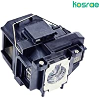 Kosrae for ELPLP67 / V13H010L67 Replacement Projector Lamp for Epson Projector (Housing included)