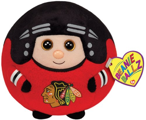 TY Beanie Ballz Chicago Blackhawks Plush, NHL