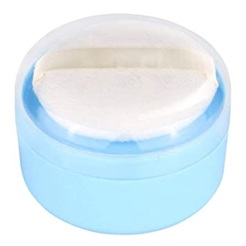 720db9ab5a8b Onwon Baby After-Bath Puff Box Empty Body Powder Container Dispenser Case  with Sifter and...