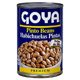 Goya Pinto Bean, 15.5000-Ounce (Pack of 12)