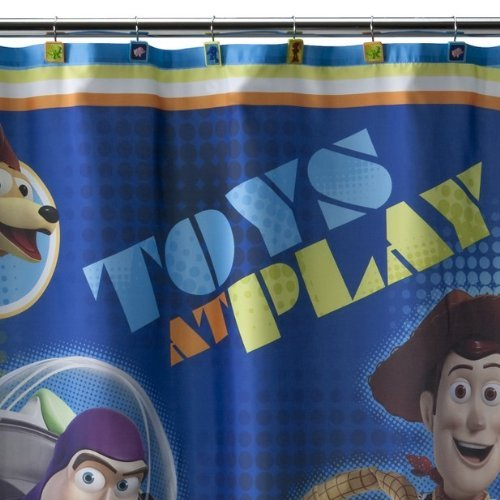On Sale Disney Toy Story Sunnyside Shower Curtain