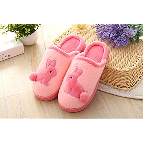 d939884d6469 cheap Womens Mens Cartoon Rabbit Soft Cozy Slip-on House Bedroom Mules  Thermal Slippers Scuff Footwear Winter Warm Furry Plush Flat Slipper Bootie  ...