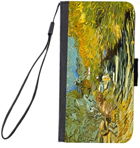 Remy Flap (Rikki Knight Premium PU Wallet Flip Case with Kickstand & Magnetic Flap for iPhone 7 & iPhone 8 - Van Gogh Art Saint-Remy)