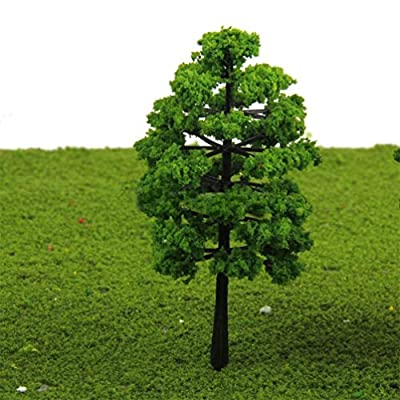 Floralby Fairy Garden Kit, 20Pcs Miniature Artificial Trees DIY Dollhouse Fairy Garden Ornament: Garden & Outdoor