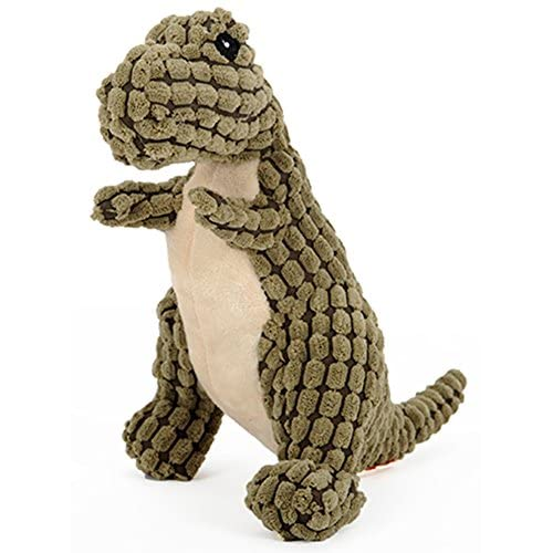 MarePet Dog Dinosaurs Shape Playing Toys Squeaky Plush Toy Funny Sounds Doll Training Toy Chew Toy 60%OFF