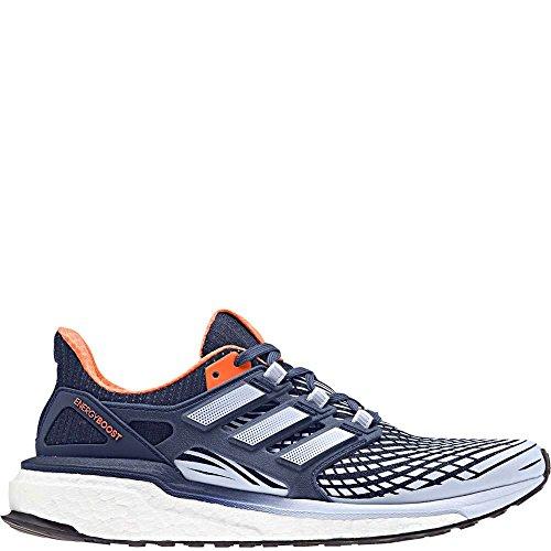 adidas Performance Women's Energy Boost W Running-Shoes, Noble Indigo/Aero Blue/Hi-Res Orange, 9.5 M US by adidas Performance