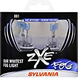 SYLVANIA 881 zXe High Performance Halogen Fog Light Bulb, (Contains 2 Bulbs)