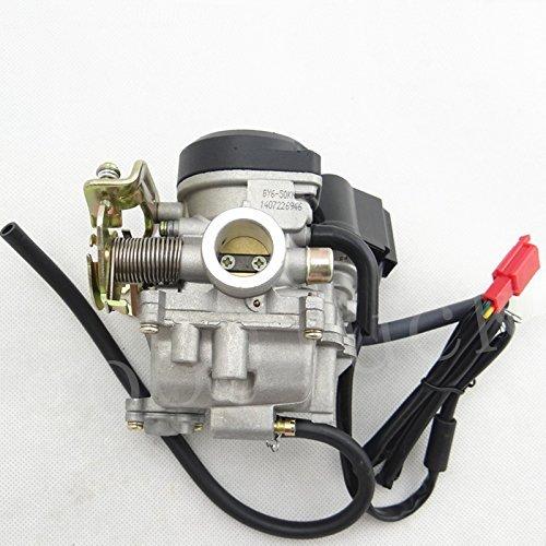 huopu Carb carburador para 4/tiempos GY6/49/cc 50/cc chino Scooter Ciclomotor 139QMB Taotao Kymco