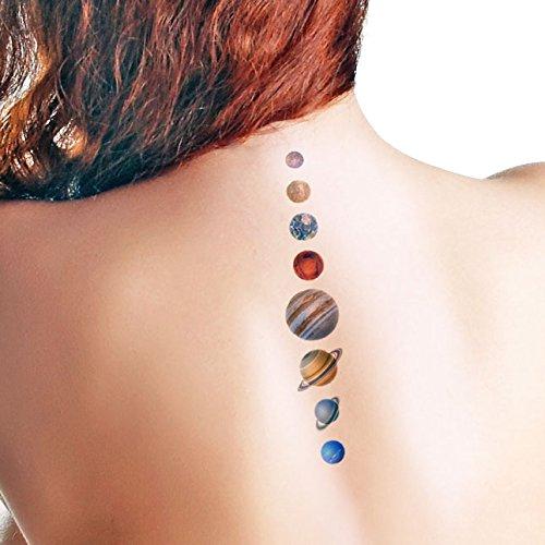 Planetas - Temporary tattoo: Amazon.es: Handmade