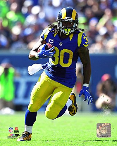 "Todd Gurley Los Angeles Rams 2016 NFL Action Photo (8"" x 10"")"