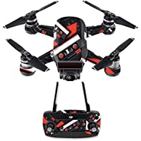 Skin for DJI Spark Mini Drone Combo - Mixtape| MightySkins Protective, Durable, and Unique Vinyl Decal wrap cover | Easy To Apply, Remove, and Change Styles | Made in the USA