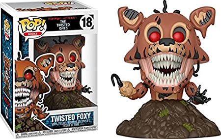 Funko POP! FNAF The Twisted Ones: Twisted Freddy + Twisted Foxy - Figure NEW: Amazon.es: Juguetes y juegos