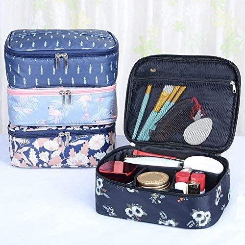 Bolsas de maquillaje Mujer - Dxlta prueba de agua Estuches cosméticos Neceser de viaje Bolsa de almacenamiento organizador